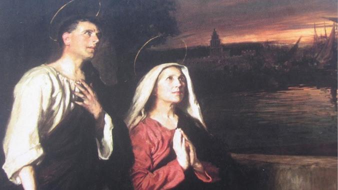 santa-monica-e-santo-agostinho
